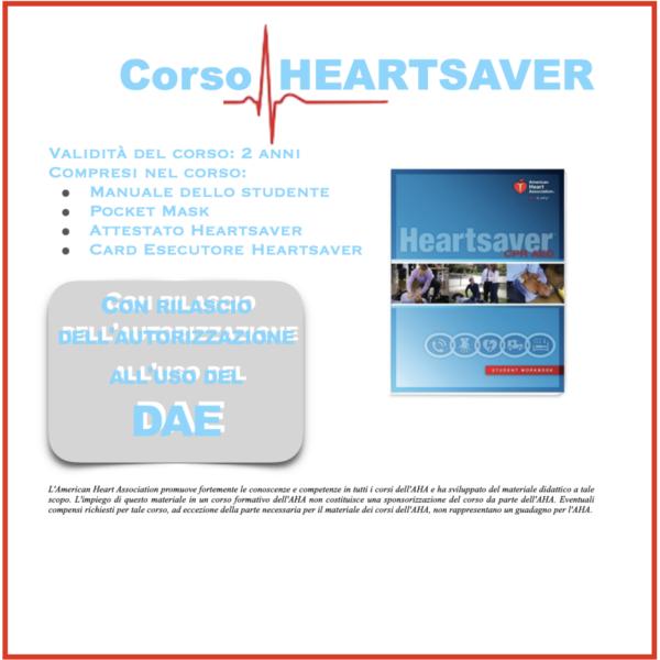 Corsi HEARTSAVER - BLS con uso del Defibrillatore per personale non sanitario